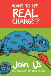 Want to see Real change? Join us