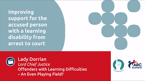 Offenders with Learning Difficulties - An Even Playing Field?